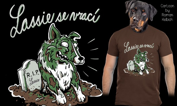 Detail návrhu Lassie se vrací!