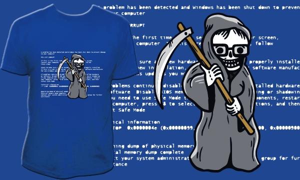 Detail návrhu Modrá smrt