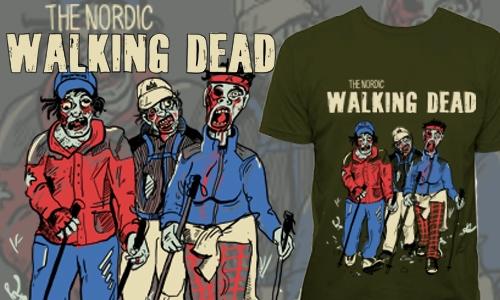 Detail návrhu nordic WALKING DEAD!