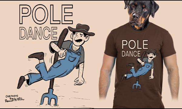 Detail návrhu POLE dance