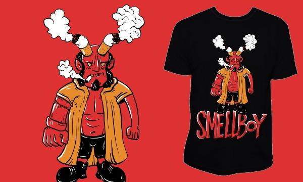 Detail návrhu Smellboy
