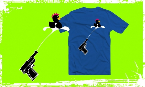 Detail návrhu Duck and Gun