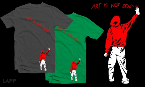 Detail návrhu ART IS NOT DEAD