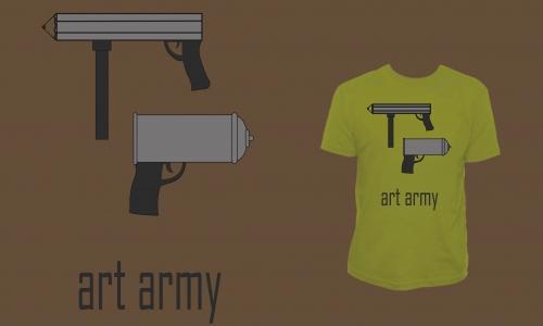 Detail návrhu art army