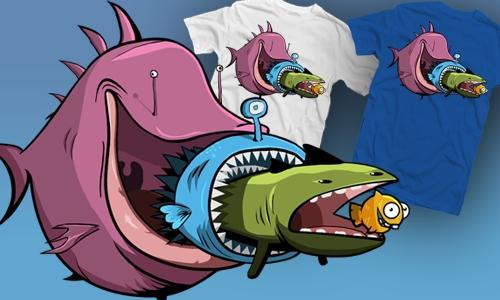 Detail návrhu Fish life