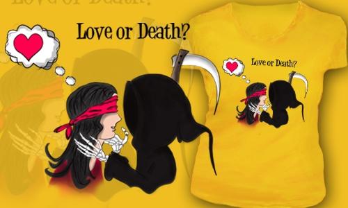Detail návrhu Love or Death?