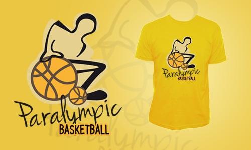 Detail návrhu Paralympic basketball