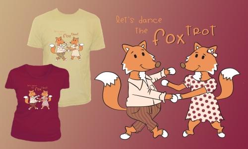 Detail návrhu Fox Trot