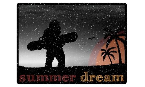 Detail návrhu summer dream