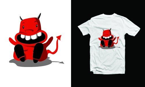 Detail návrhu Little devil