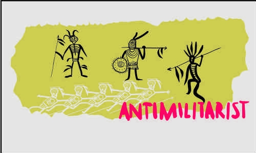Detail návrhu Antimilitarista
