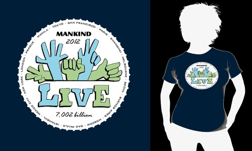 Detail návrhu Mankind 2012