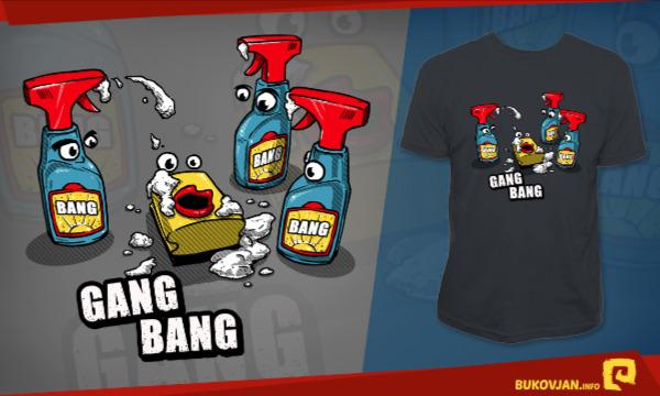Detail návrhu GANG BANG