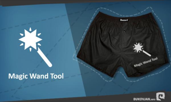 Detail návrhu Magic Wand Tool