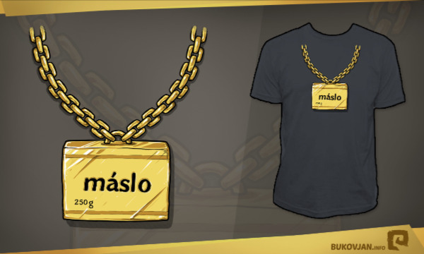 Detail návrhu Máslo