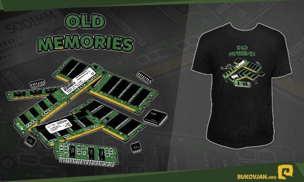 Detail návrhu OLD MEMORIES
