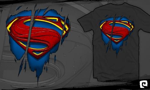 Detail návrhu Superman inside