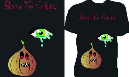 Detail návrhu BornToCrime