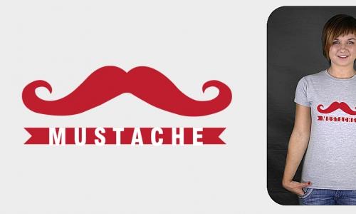 Detail návrhu Mustache design