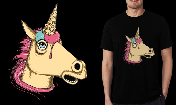 Detail návrhu Sweet unicorn