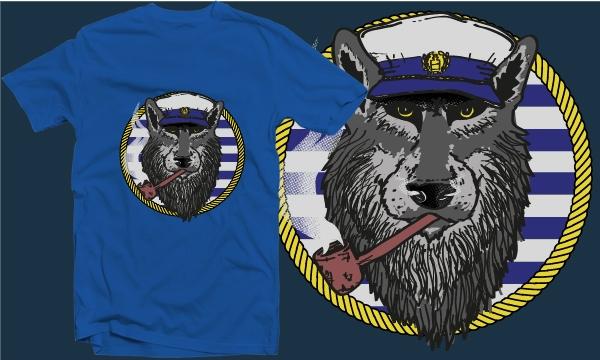 Detail návrhu Starý říční vlk
