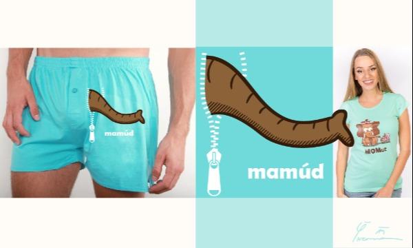 Detail návrhu Mamúd