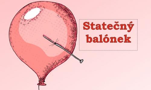Detail návrhu Statečný balónek