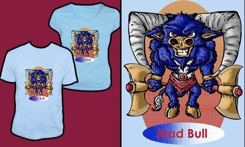 Detail návrhu Mad Bull
