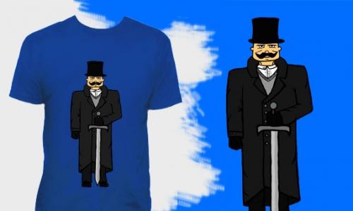 Detail návrhu Sharp Gentleman
