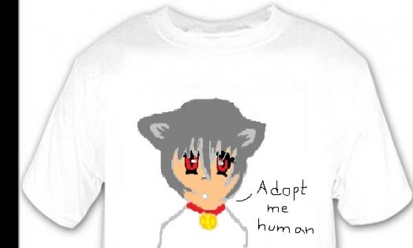 Detail návrhu Adopt me Human