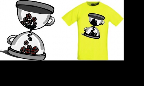 Detail návrhu It's time for coffee