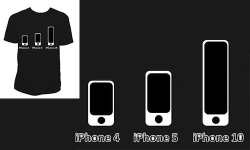 Detail návrhu Generace iPhone