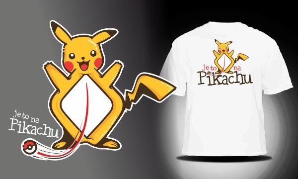 Detail návrhu je to na Pikachu...