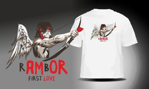 Detail návrhu RAMBO - AMOR