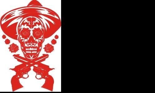 Detail návrhu Mexican Shooter