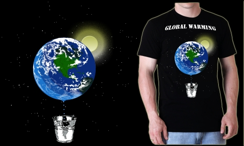 Detail návrhu global warming