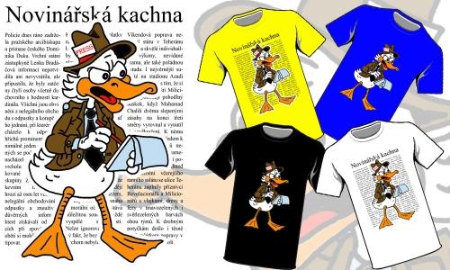 Detail návrhu Kachna