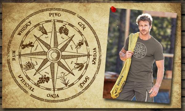Detail návrhu Kompas mého srdce
