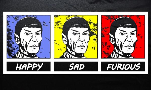Detail návrhu Mistr Spock
