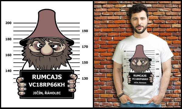 Detail návrhu Rumcajs crime