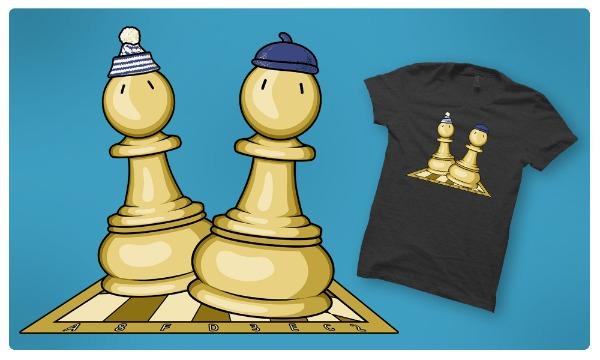 Detail návrhu Šach mat