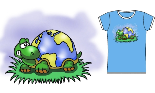 Detail návrhu Turtlearth