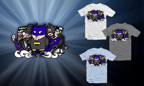 Detail návrhu Batman&villains