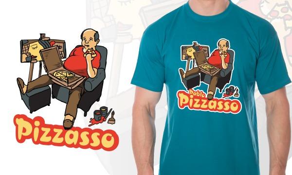 Detail návrhu Pizzasso