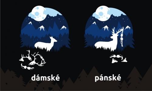 Detail návrhu Deer and doe aneb nevěra se nevyplácí :)