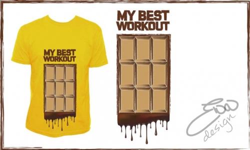 Detail návrhu My best workout