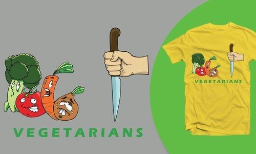 Detail návrhu Vegetarians