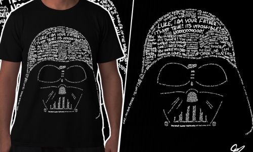 Detail návrhu Darth Vader