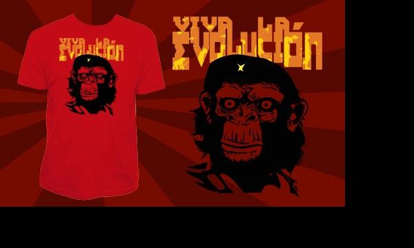 Detail návrhu Viva la Evolucion