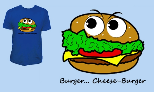 Detail návrhu Burger... Cheese-Burger